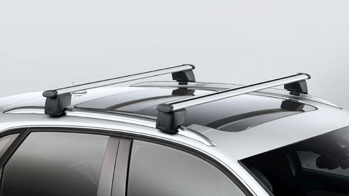 Roof rack For vehicles with roof rails