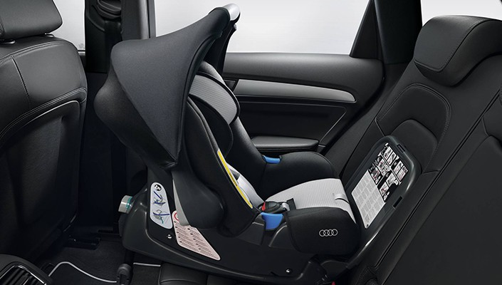 Audi child seat, 9 - 18 kg, Titanium grey/black