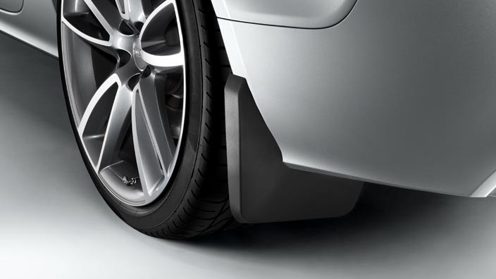 Audi Q5 Mud Flaps >> Mud flaps, rear 1 set left & right (not for S line exterior package, S and RS models) - Comfort ...