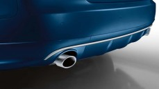 Chrome Sportsstyle tailpipe trims (for 2.0 TFSI/1.8TFSI with 80mm pipe diameter)