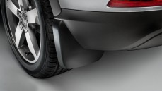 Mud flaps, rear (Matt black)