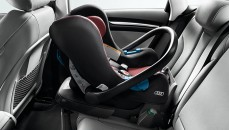 Audi baby seat up to 13 kg, misano red/black