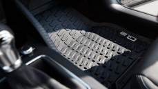 Rubber mats front set of 2