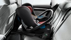 Audi baby seat - Red/Black (age 1-12months)