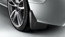 Mud flaps, rear 1 set left & right (not for S line exterior package)
