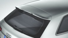Roof edge spoiler  Not in conjunction with S line exterior package, S and RS models