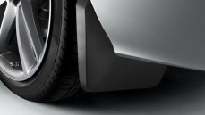 Mud flaps, rear 1 set left & right (not for S line exterior package, S and RS models)