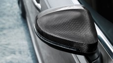 Exterior mirror housings, carbon