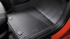 A1 Rubber Floor Mats: Rear