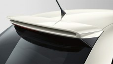 Roof spoiler competition kit  Without integrated aerial, primed (Available in vehicle colour if factory fitted)