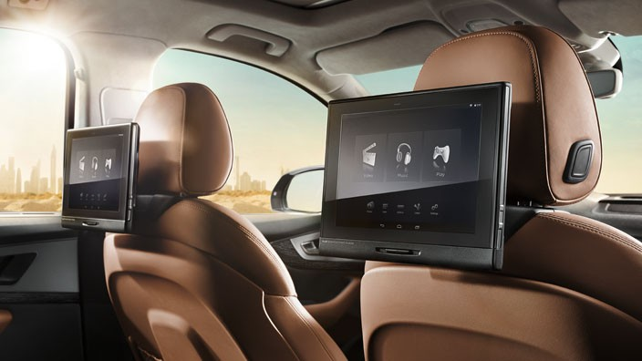 Rear Seat Entertainment  Twin Package
