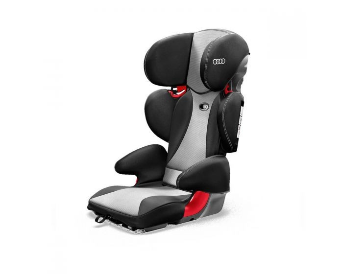 Audi child seat youngster plus - Titanium grey/black (age 4-12 years)