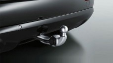 Trailer towing hitch - Swiveltype