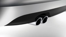 Chrome Sports style tailpipe trims - Single tailpipe